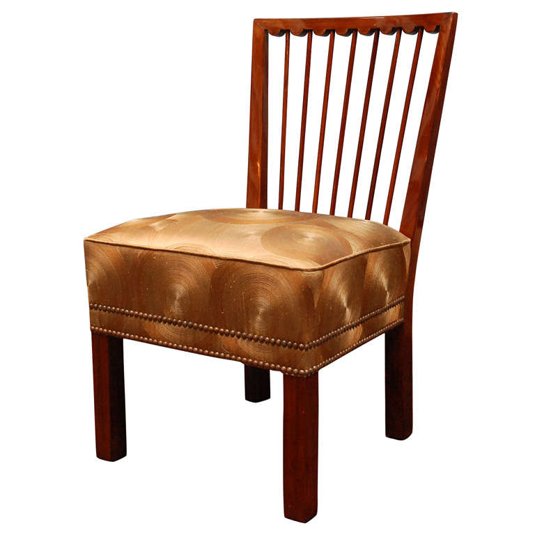 Art Deco Occasional Chair At 1stdibs