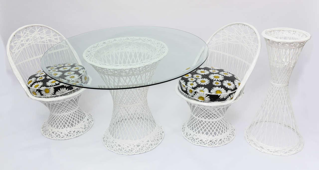 Nice Mid Century Modern Russell Woodard Spun Fiberglass Patio Furniture 2