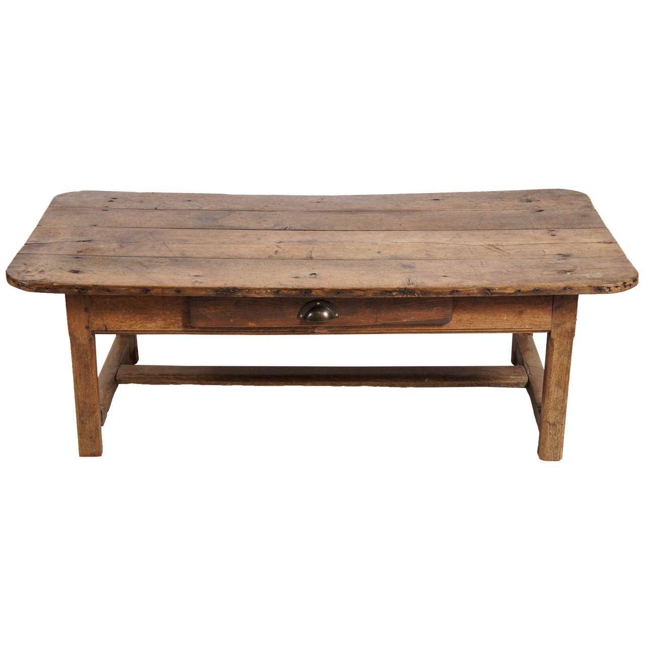 Irish pine coffee table at 1stdibs for Pine coffee table