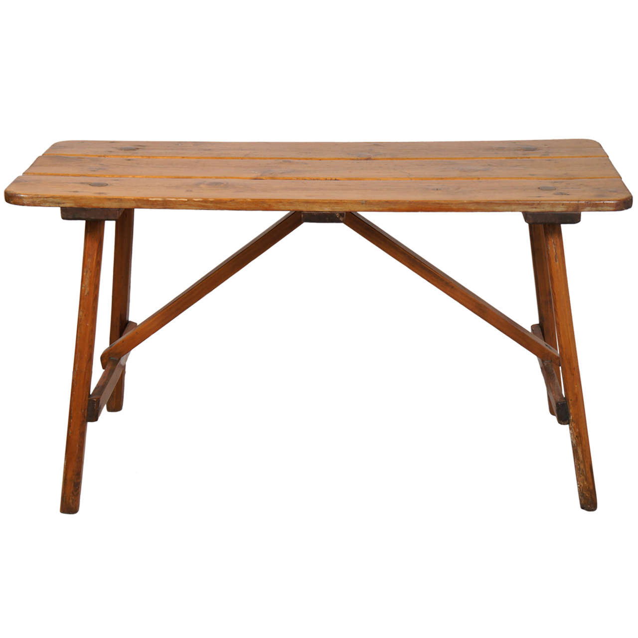 Adirondack Coffee Table Set: 1940s Adirondack Occasional Or Coffee Table At 1stdibs