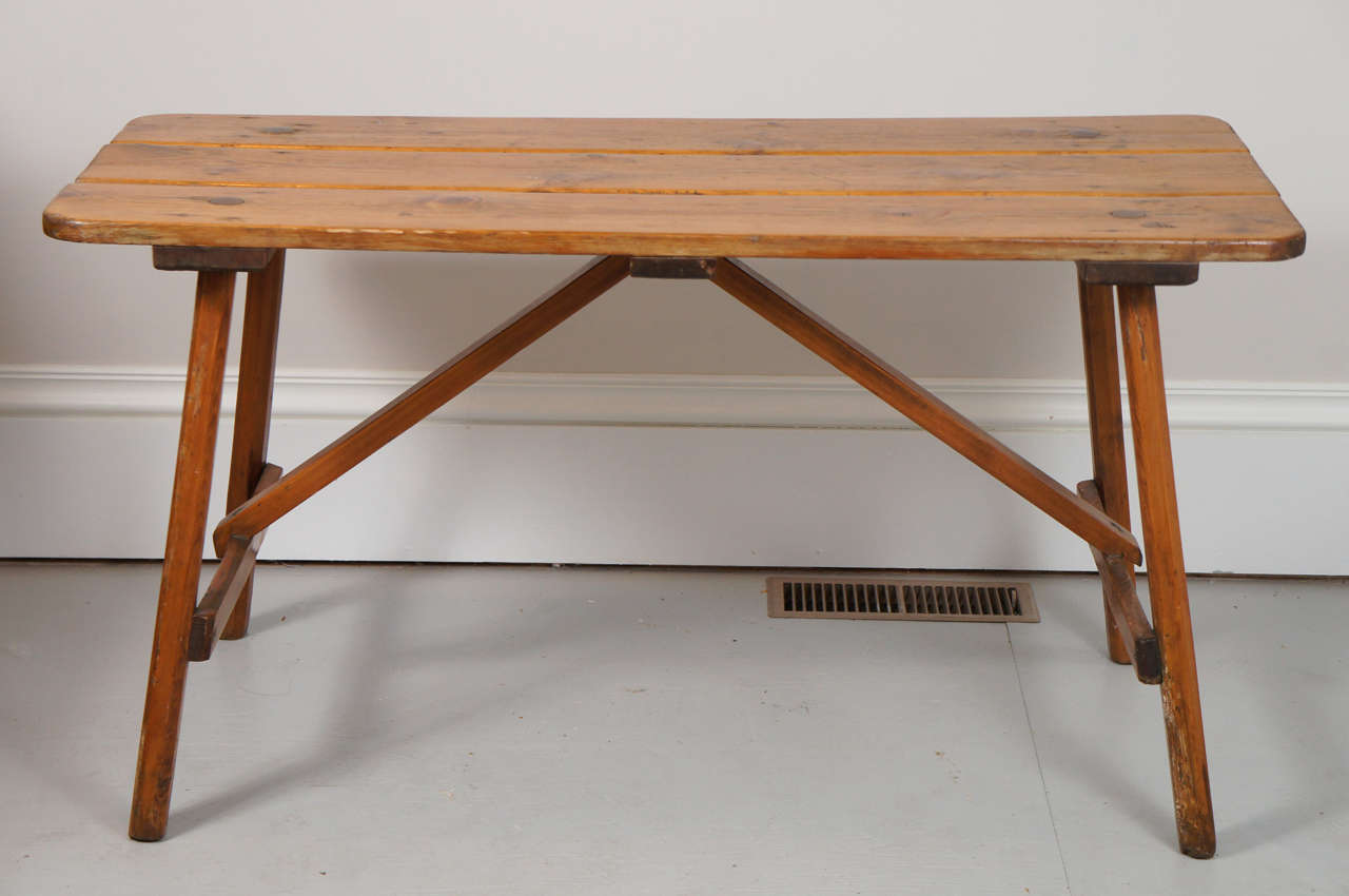 1940s Adirondack Occasional Or Coffee Table At 1stdibs