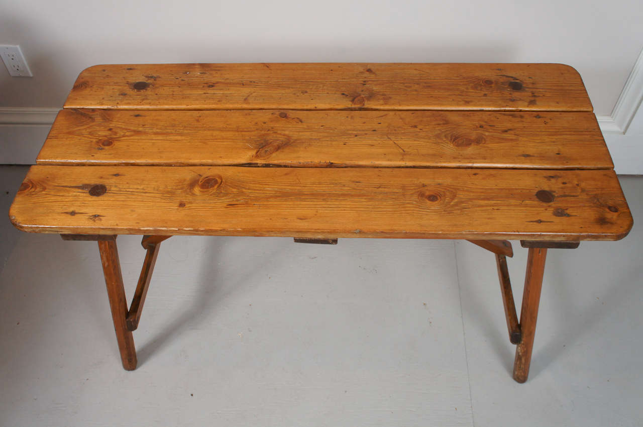 1940s adirondack occasional or coffee table at 1stdibs. Black Bedroom Furniture Sets. Home Design Ideas