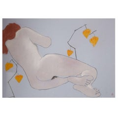 1962 Oil Pastel by Anna Sylverberg