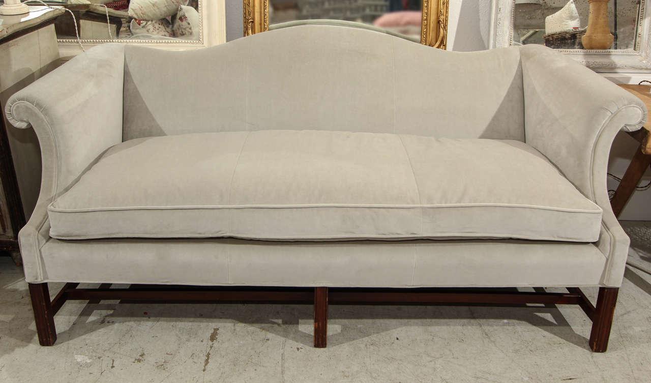 Beautiful Camelback Sofa At 1stdibs