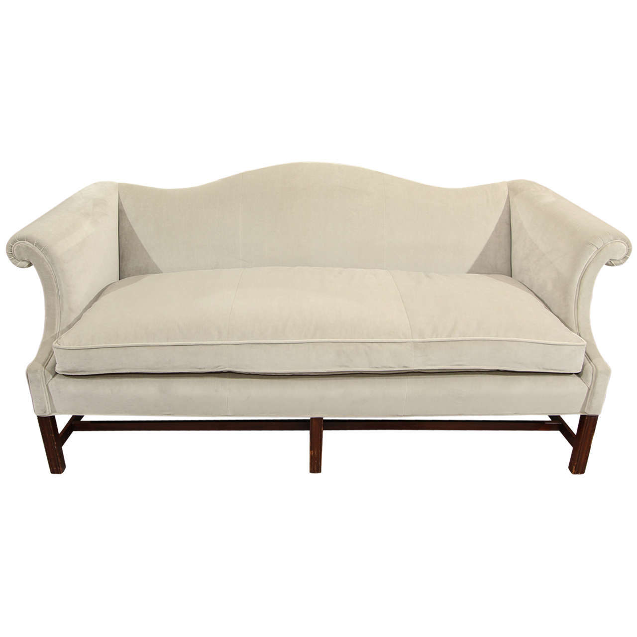 Beautiful Camelback Sofa At 1stdibs