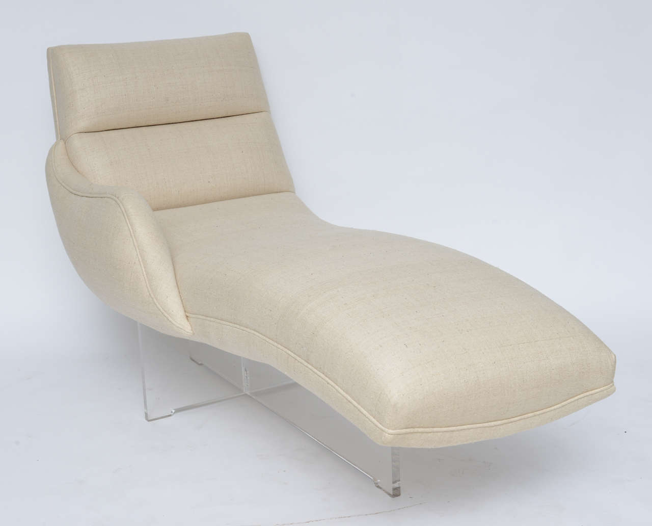 Erica chaise lounge by vladimir kagan at 1stdibs for Art nouveau chaise lounge