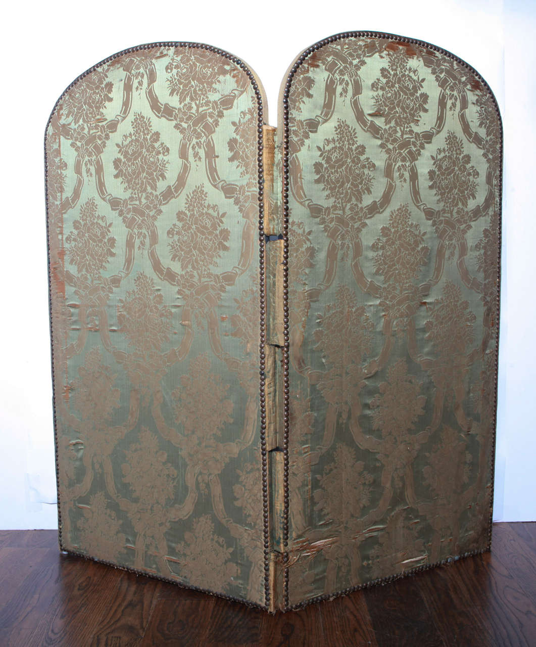 20th Century French Two Panel Screen For Sale 1