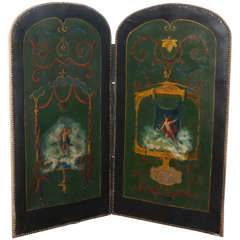 20th Century French Two Panel Screen