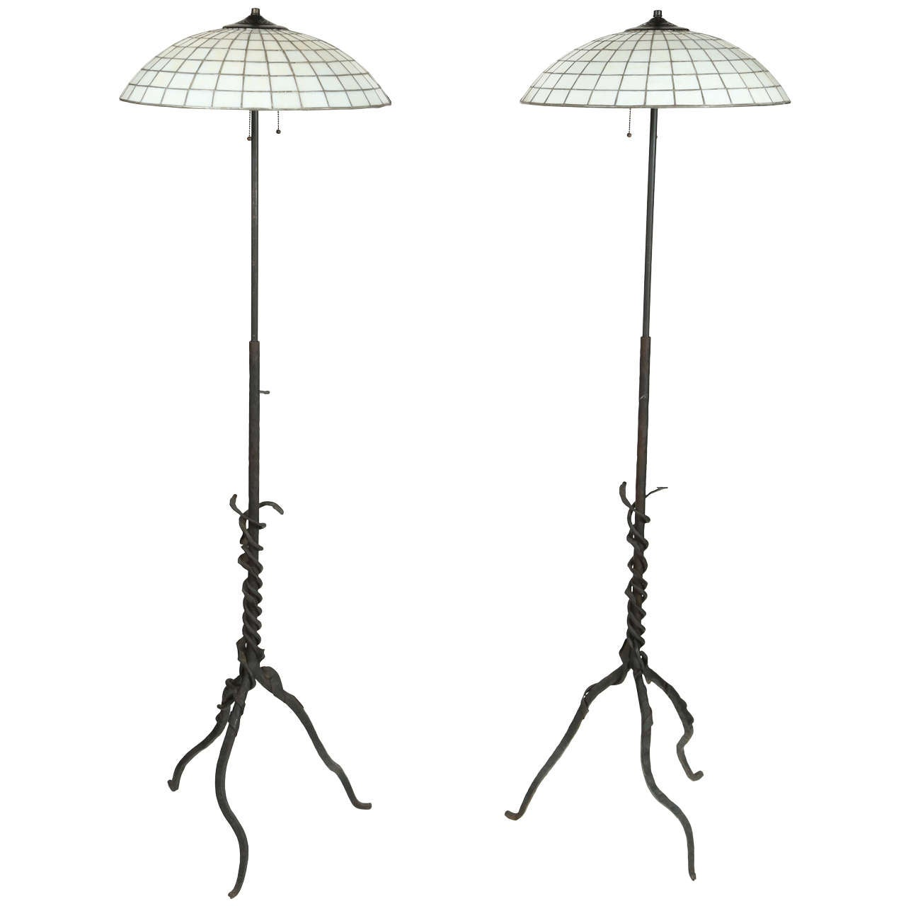 arts and crafts style floor lamp at 1stdibs