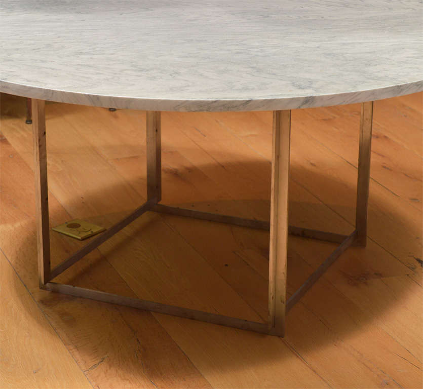 Scandinavian Modern Poul Kjaerholm Model PK-54 Dining Table
