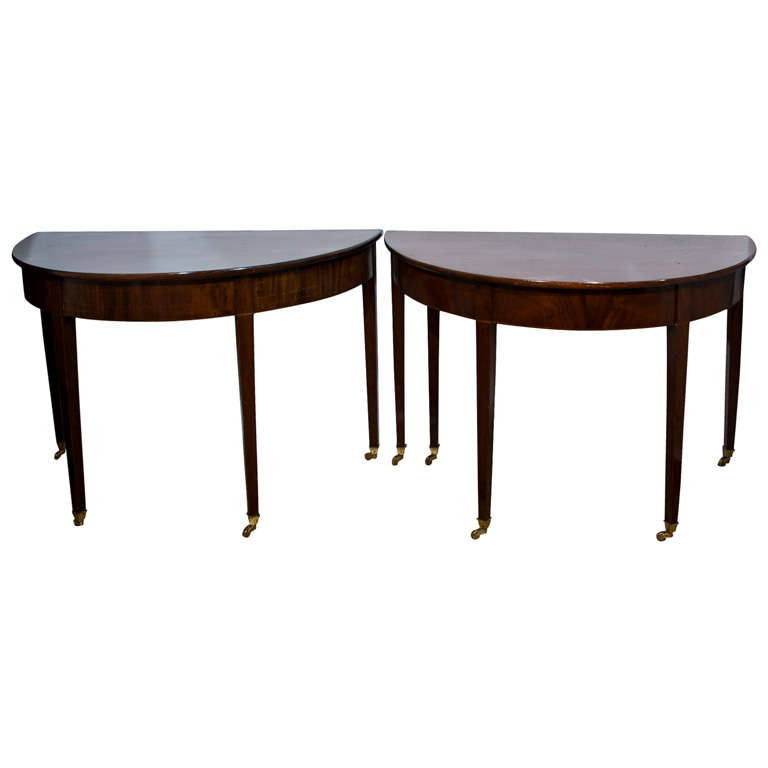 American Mahogany Federal 3 part Dining Table at 1stdibs : xIMG3414 from www.1stdibs.com size 768 x 768 jpeg 21kB