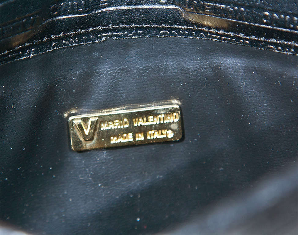 Valentino Textured Leather 'V' Logo Clutch* presented by funkyfinders 6