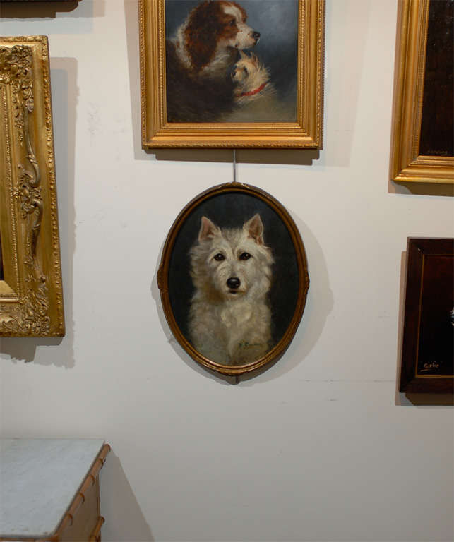 Oil Painting of  Dog image 2