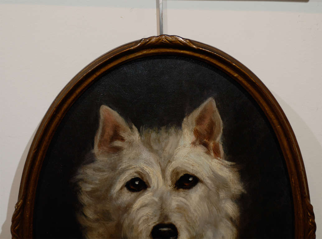 Oil Painting of  Dog image 3