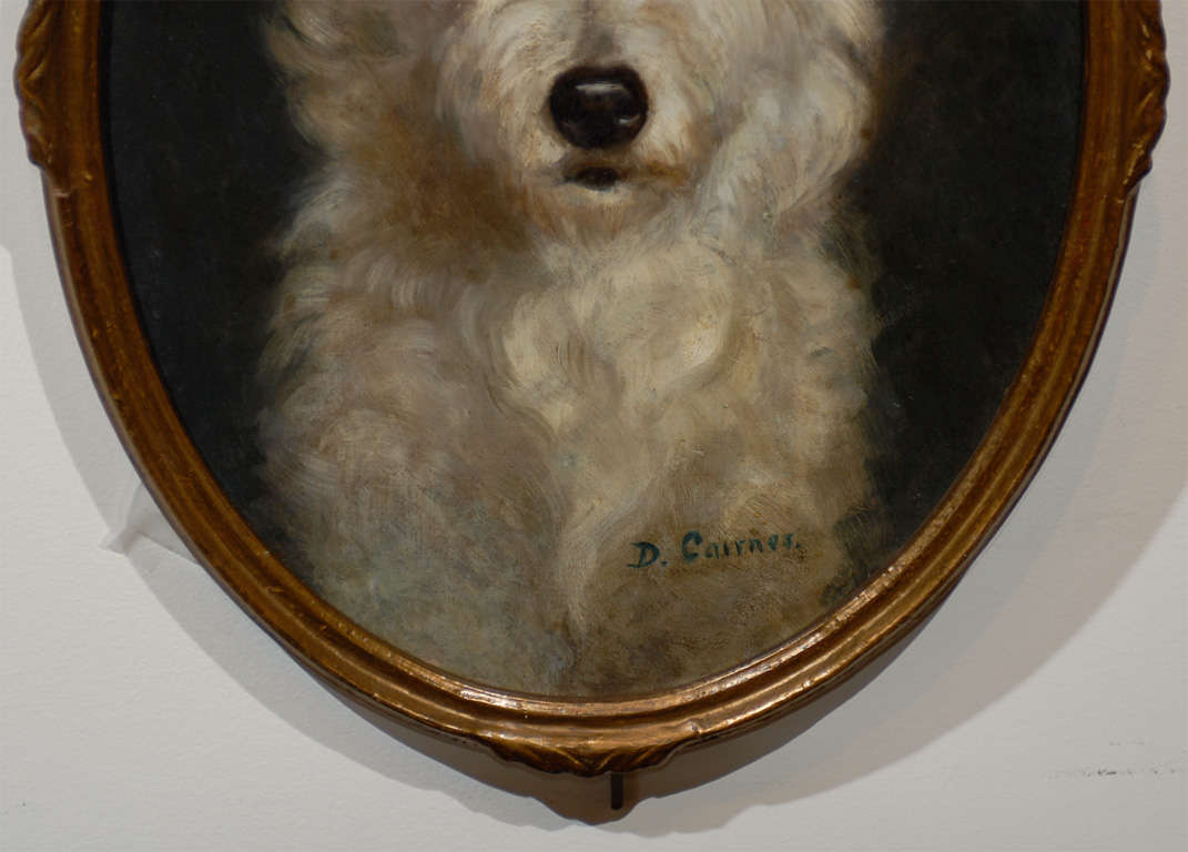 Oil Painting of  Dog image 4