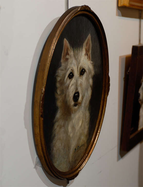 Oil Painting of  Dog image 6