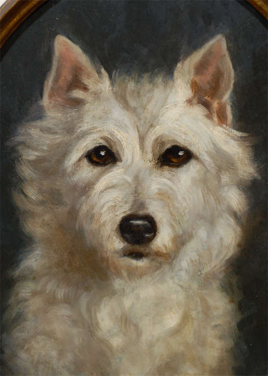 Oil Painting of  Dog image 8
