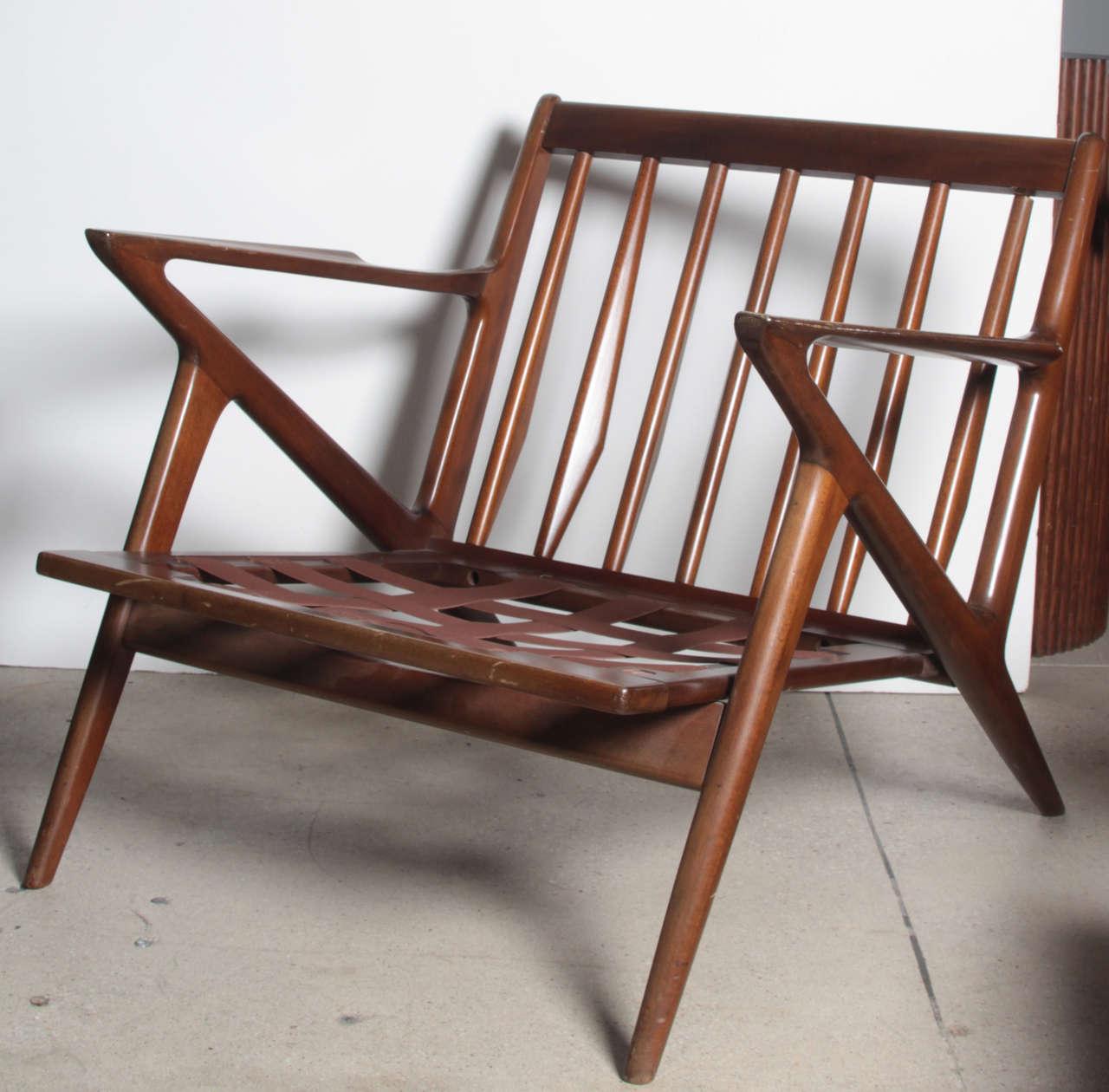 Pair Poul Jensen Selig Z Chairs 2