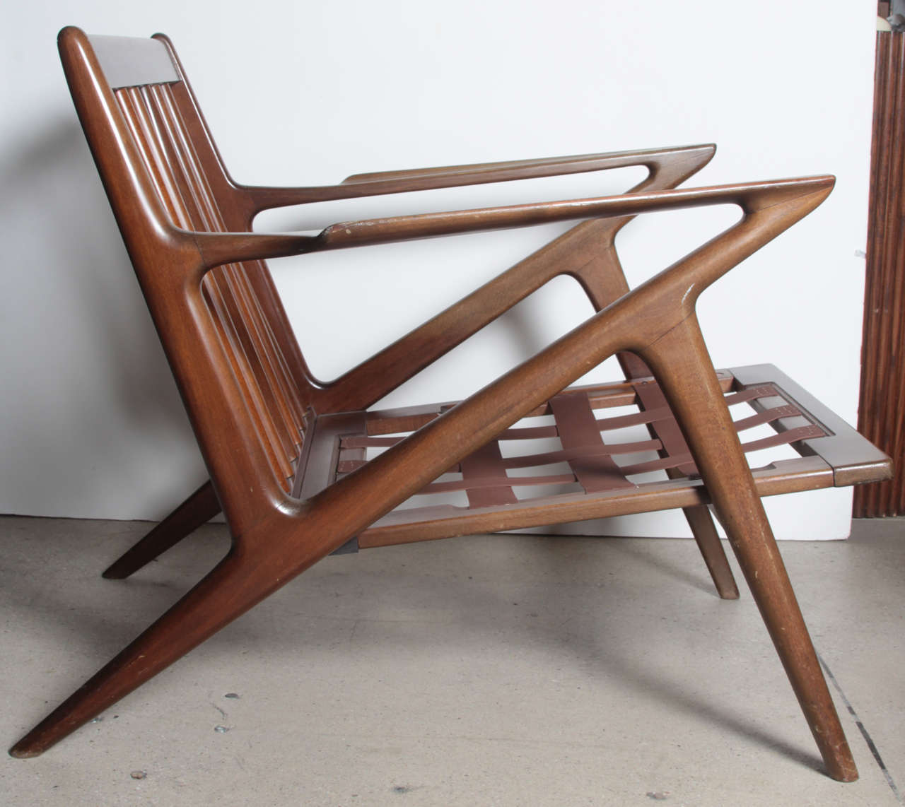 Pair poul jensen selig z chairs at 1stdibs for Poul jensen z chair