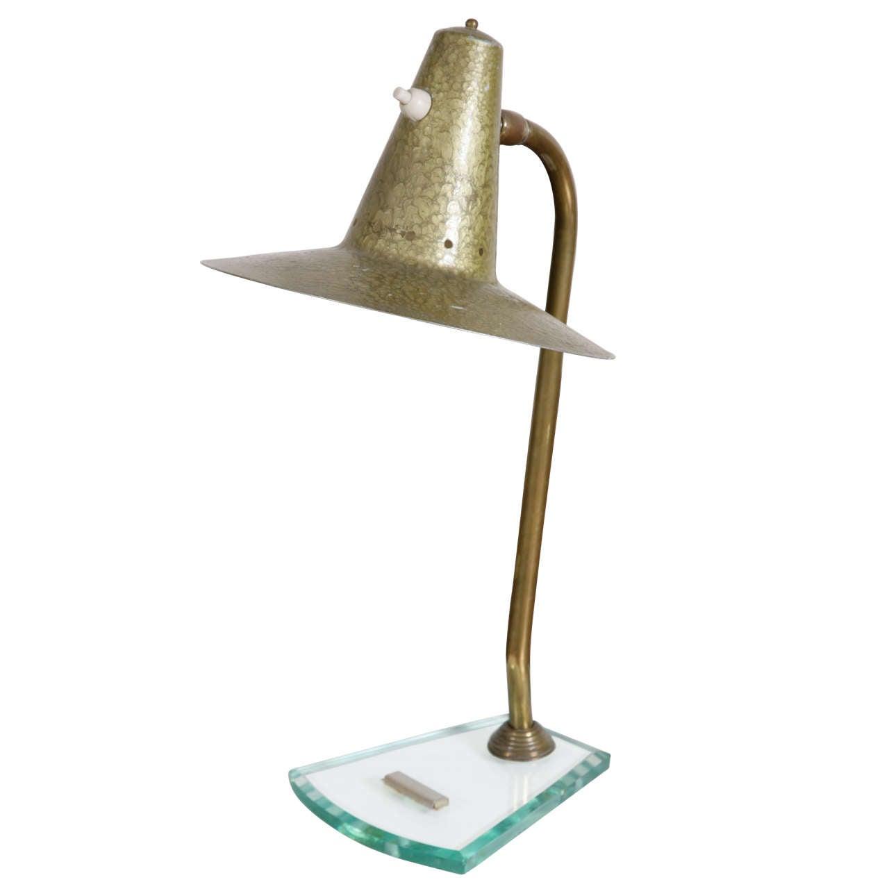 Mid Century Italian Design Table Lamp at 1stdibs