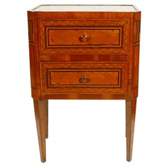 Italian Neoclassiscal Bedside Table