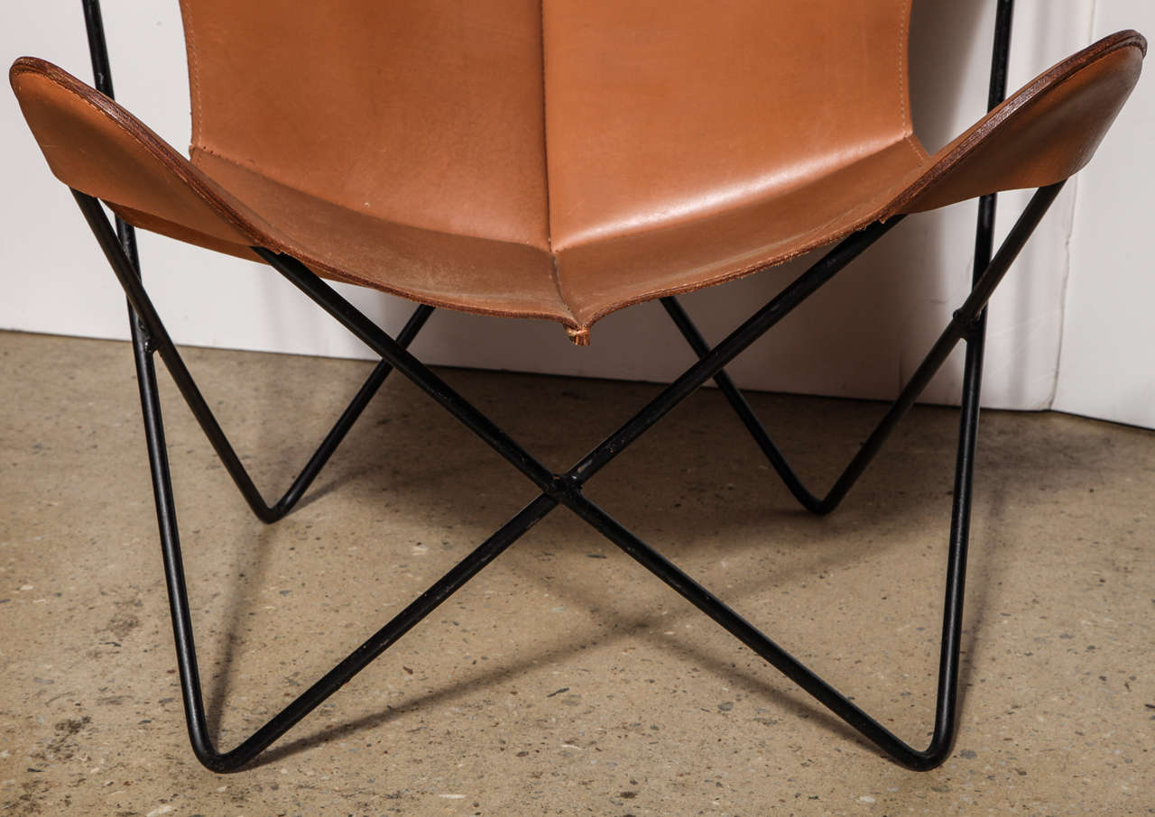 single Knoll style Hardoy Butterfly Chair 2