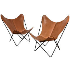 single Knoll style Hardoy Butterfly Chair