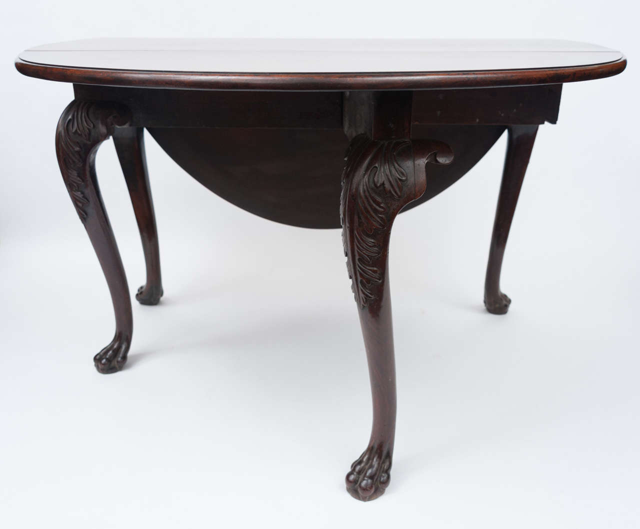 George II Irish Mahogany Drop Leaf Table For Sale At 1stdibs