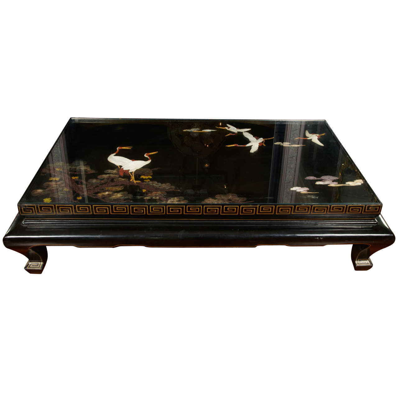 Rare Large Low Table At 1stdibs