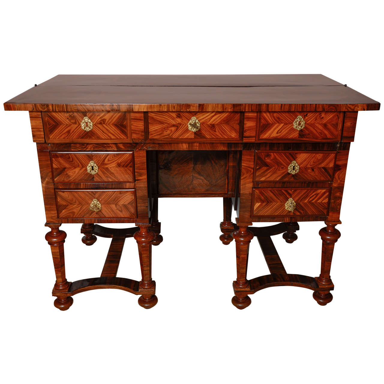 a french louis xiv kingwood bureau mazarin at 1stdibs. Black Bedroom Furniture Sets. Home Design Ideas