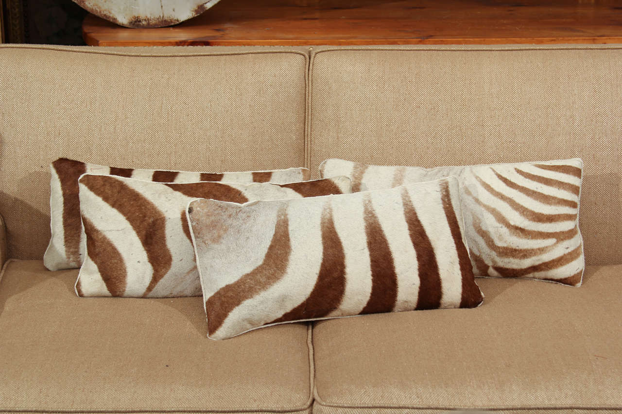 zebra pillows image 2