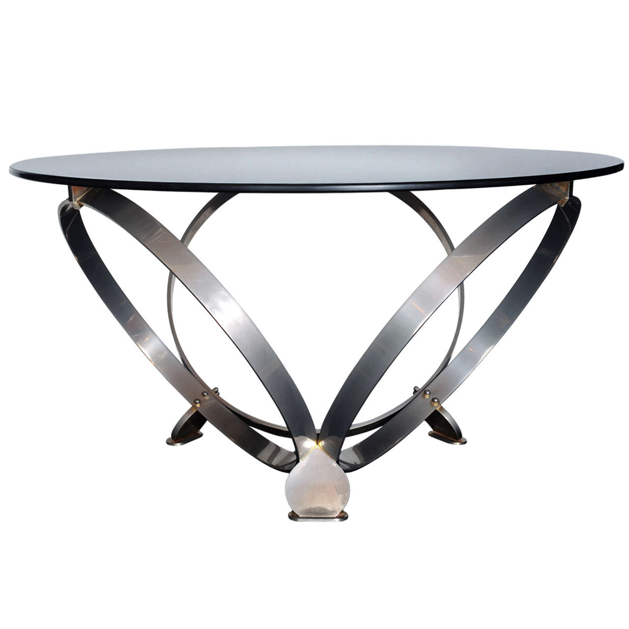 Italian Coffee Table With Glass Top For Sale At 1stdibs