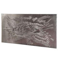 Large 1970s Decorative Wall Panel by Sernesi