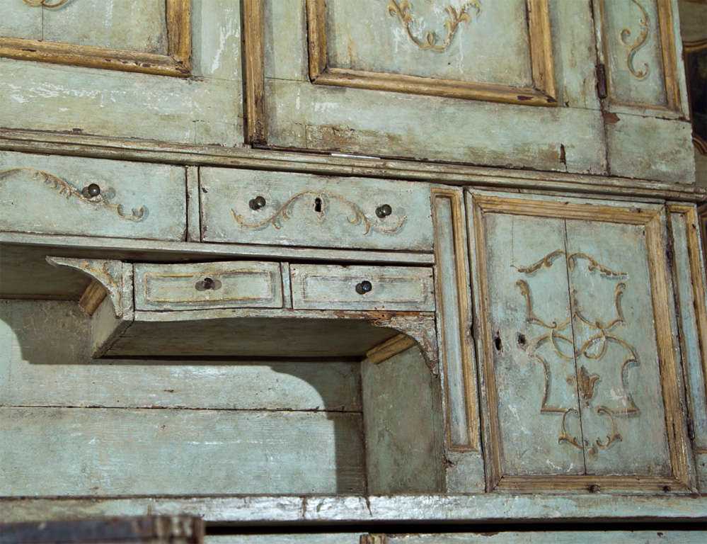 Wood Sacristy Cabinet For Sale
