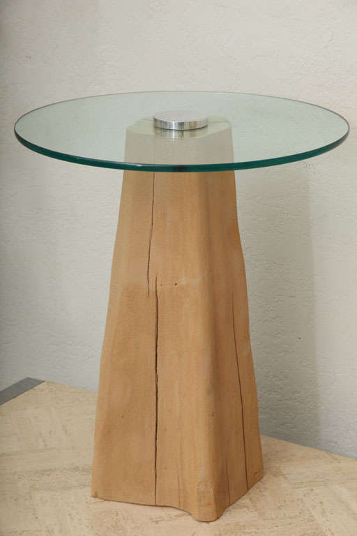 Cypress Knee Side Table 2
