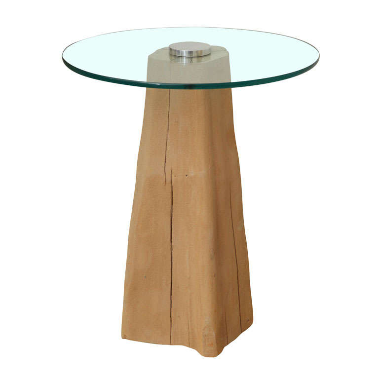 Cypress Knee Side Table 1