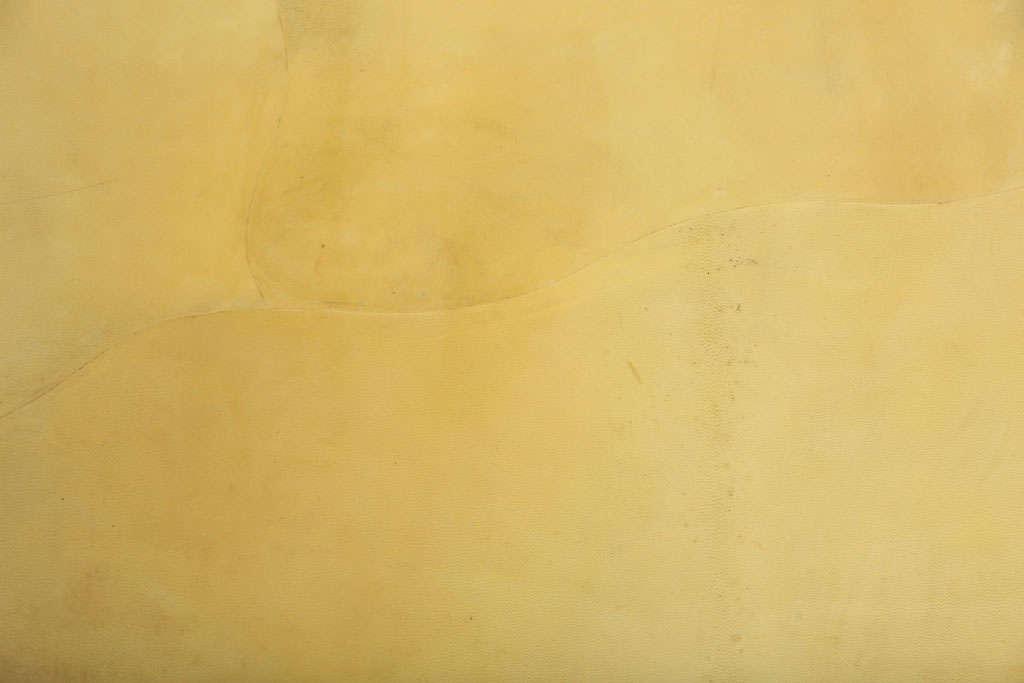 Large Enrique Garces Parchment End Table For Sale 1