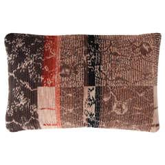 Art Deco Mohair Pillow