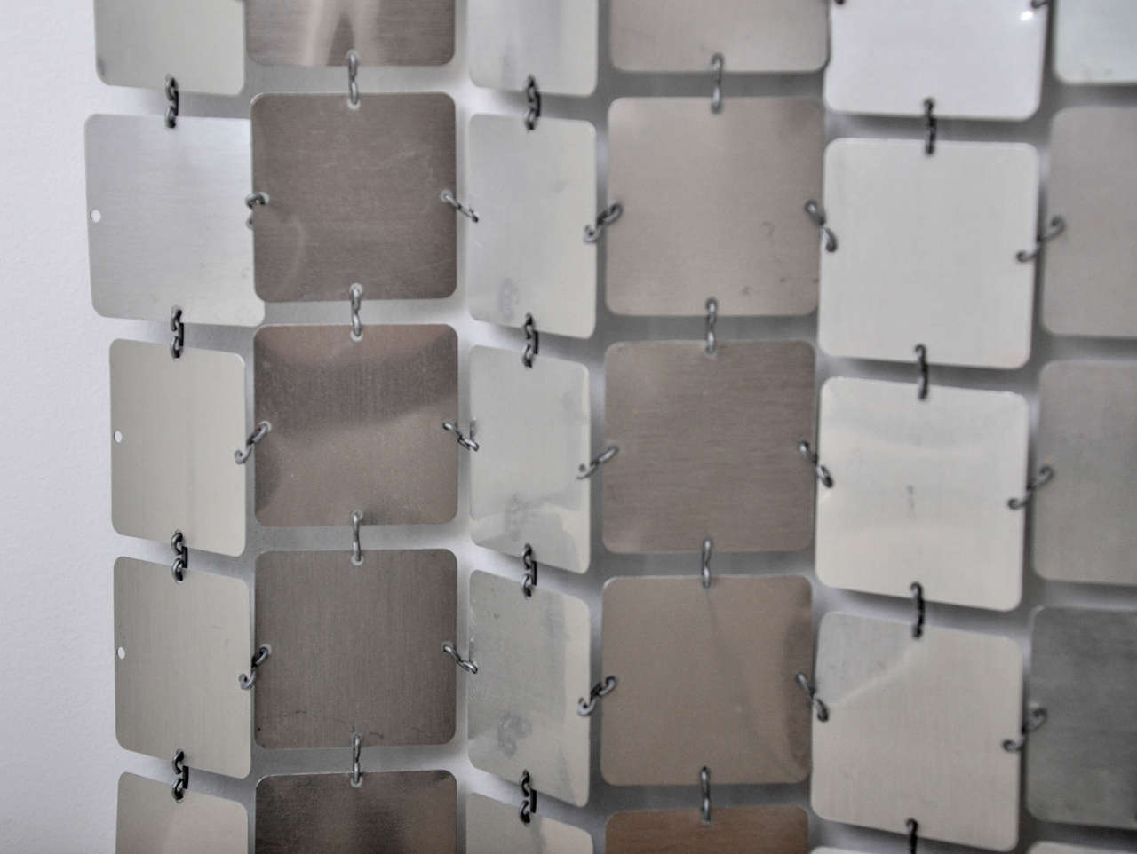 Paco Rabanne Silver Space Curtain For Sale 1