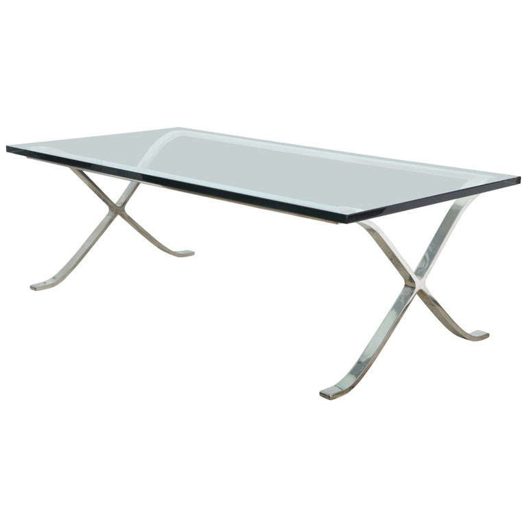 Ludwig Mies Van Der Rohe Cocktail Table At 1stdibs