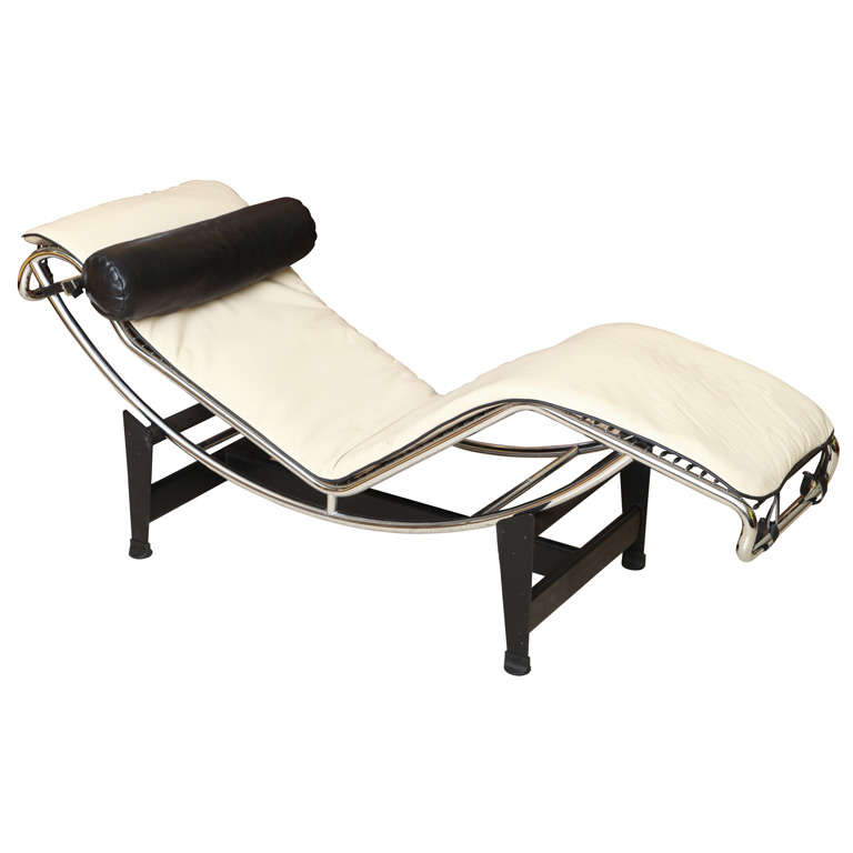 Charlotte perriand le corbusier lc 4 chaise lounge at 1stdibs for Chaise le corbusier