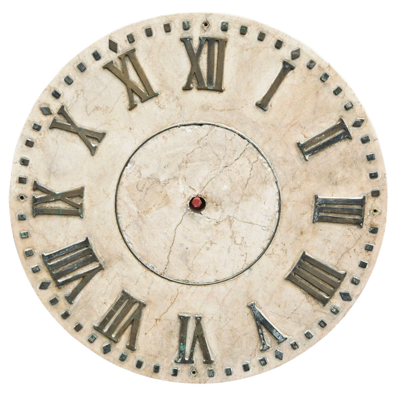 Marble clock face at 1stdibs - Mondaine wall clock cm ...