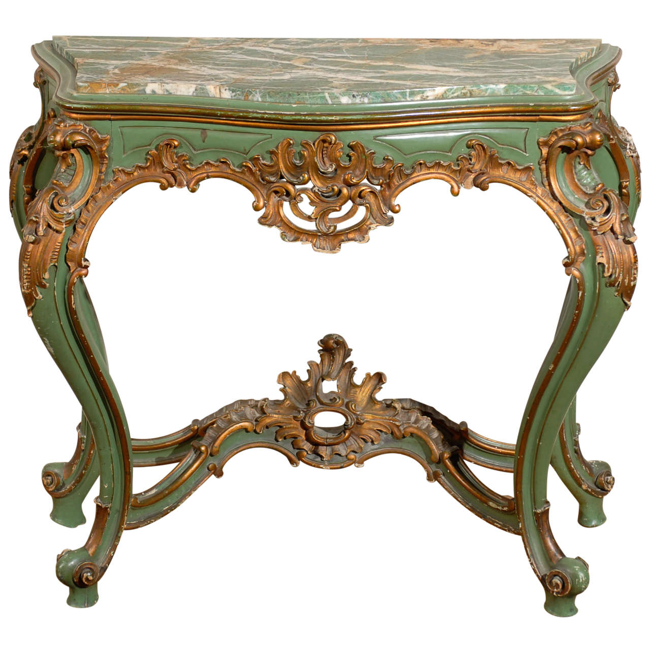 Louis xv style console at 1stdibs - Mobilier style louis xv ...