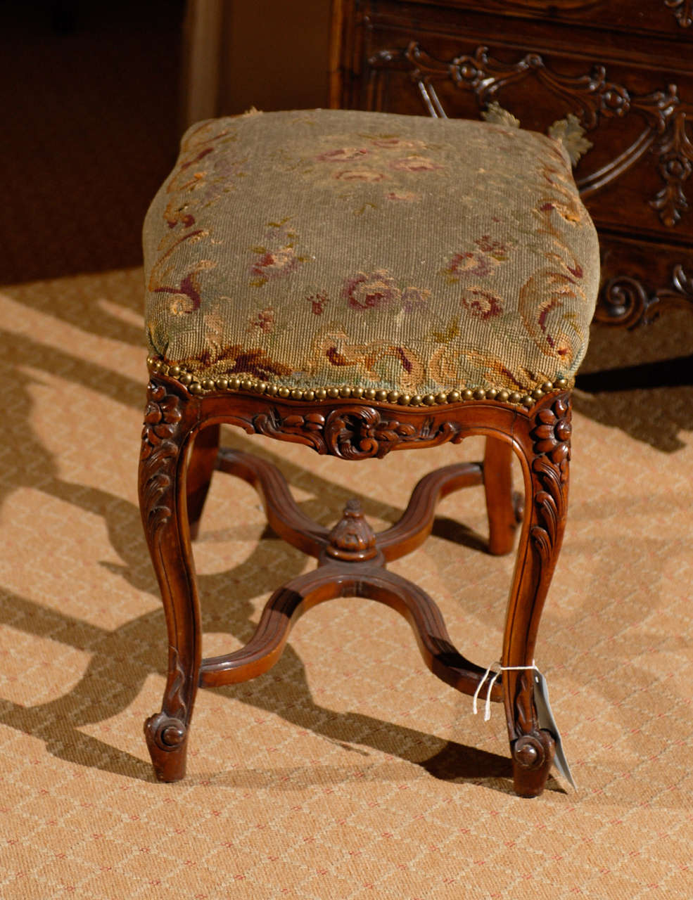 Louis Xv Style Footstool For Sale At 1stdibs