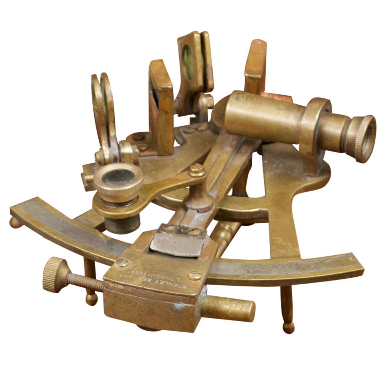 Miniature Stanley Sextant London 1892 With Case At 1stdibs