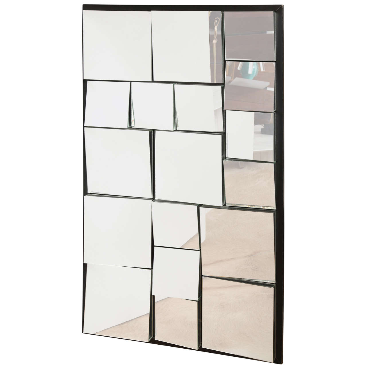 Large mirror by neil small at 1stdibs for Floor length mirror for sale