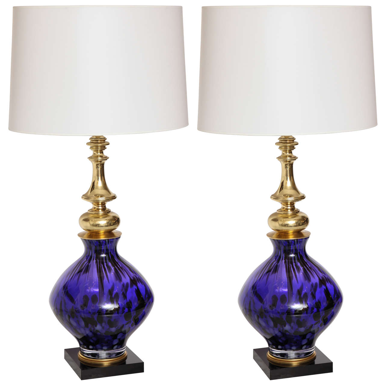 this pair of murano glass table lamps is no longer available. Black Bedroom Furniture Sets. Home Design Ideas