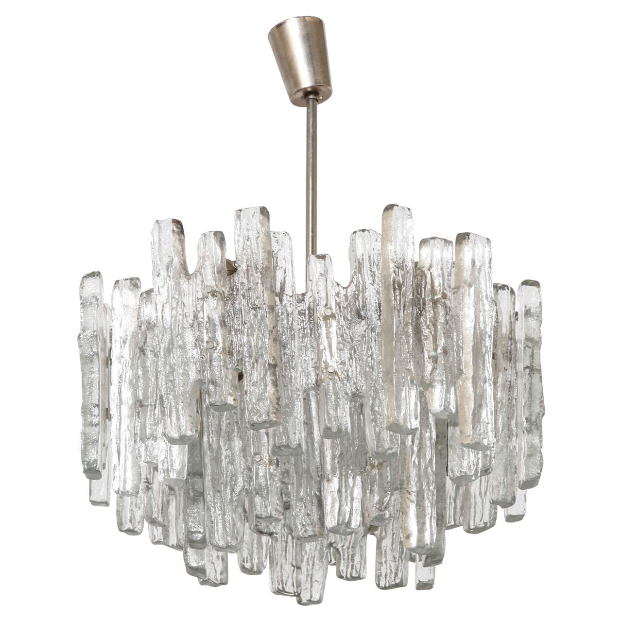 Extra Large Kalmar Ice Cubes Chandelier At 1stdibs