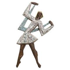 Stylized Girl Designed by Rogier Vandeweghe for Amphora