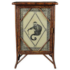 Whimsical Bamboo Cabinet